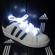 Trenzas Led Para Zapatos Adidas Super Star Dama Y Caballero