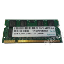 Memoria Ram Notebook Netbook 2gb Ddr2 800mhz Pc2-6400