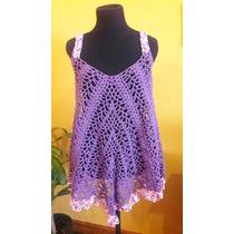 Vestido Tejido A Crochet