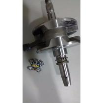Virabrequim C/ Biela Crf 230 + Pino Cursado Txk 2mm E Flange