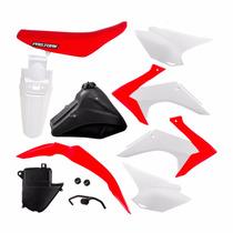 Kit De Plastico Crf 230 Adaptavel+ferragens Xr 200-tornado
