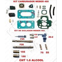 Kit Carburador Weber 460 Alcool Escort-verona Cht 1.6 83/84