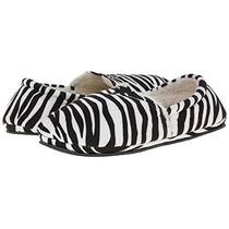 Pantufla Isaac Mizrahi Zebra #25