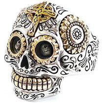 Anillos Esqueletos Calaveras Mexicana Harley Davidson Rock
