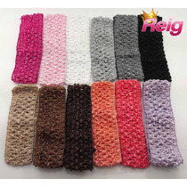 Faixa Croche Larga, 8cm, Pcte 12 Pcs Para Montagem Revenda