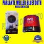 Parlante Weller Con Bluetooth Modelo Swing