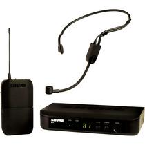 Sistema Sem Fio Headset Shure Blx Pga31 Auricular **