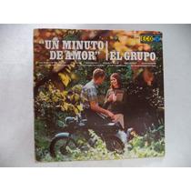 El ´´grupo´´ Un Minuto De Amor 1968 Lp Rock And Roll ´joya´