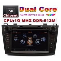 Estereo Mazda 3 Dvd Gps Mp3 Interface Ipod Usb Tv Camara Rev
