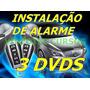 Curso Instalação De Alarme Automotivo Em Vídeo 3 Dvds