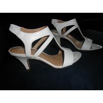 Sandalias Importadas Blancas Nine West Originales