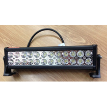 Lampara Tipo Barra 24 Led Blanco Frio Luz Intensa Fa380