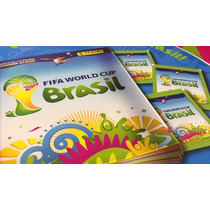 Álbum Capa Dura Copa Mundo 2014 + 649 Figurinhas Frete Grati
