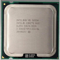 Procesador Intel Core 2 Duo E6550 2.33ghz 4mb Cache 1333mhz