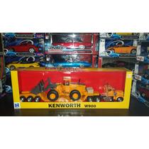 Trailer Kenworth W900 Con Cama Baja Y Retro