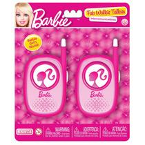 Walkie Talkie Barbie Intercomunicador Original Intek 50mt