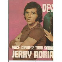 Pôster - Jerry Adriani - Revista Sétimo Céu - Ano 1971.