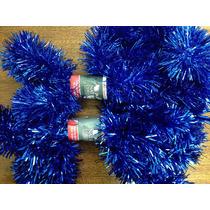 Festão 10cm Azul Metálico - 2 Unidades - Natália Christmas