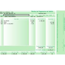 Modelo Holerite Contra-cheque Editável No Excel Frete Grátis