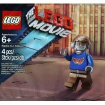 Lego Dj Movie Robot Raro Polybag Legobricksrfun
