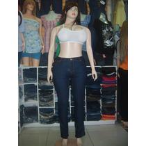 Pantalon Jeans Clacico. De Dama. Tallas 18 Al 26. .