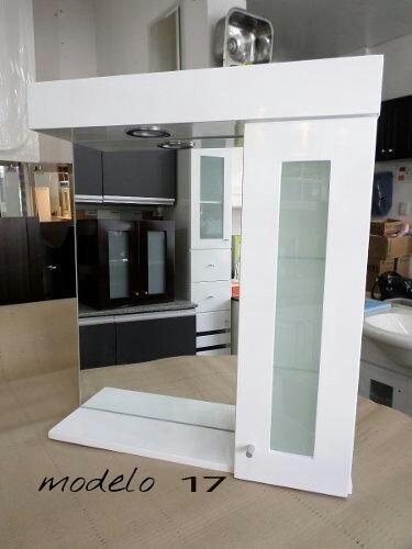 Mueble ba o minimalista en formica laqueado bs 9 50 en for Gabinete de almacenamiento de bano barato