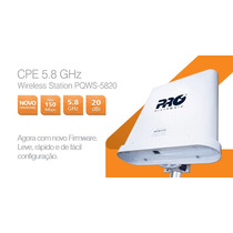 Cpe-wireless Station 5.8 Ghz Com Antena 20 Dbi