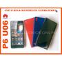 Funda Plastico S Huawei Ascend P6 Muse Angel Rojo Azul Humo