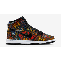 Tênis Nike Dunk High Prm Sb Stained Glass - Sneakers