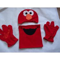 Kit Inverno Elmo C/ Gorro,cachecol Eluvas Original Universal