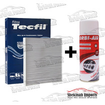 Kit Filtro Ar Condicionado + Limpa Ar Celta 1.0 2000 Á 2006