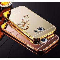 Bumper Metal Galaxy Note 5 Funda Espejo