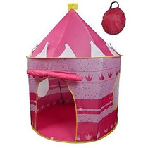 Carpa Princesa Castillo Girls Exterior Rosa Juego De Interio