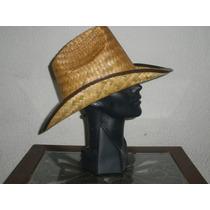 Sombrero Rodeo Adulto Palma Quemada Septiembre Mayoreo
