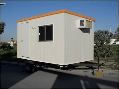 Camper remolque vivienda guardiania caseta for Oficinas moviles