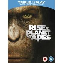 El Planeta De Los Simios Revolucion ( Bluray + Dvd ) Lbf