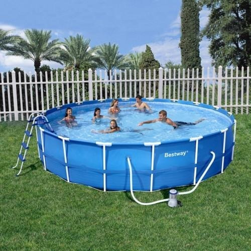 Alberca piscina estructural bestway x 91cm for Piscina estructural grande oferta precio