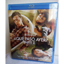 ¿que Paso Ayer? 2. The Hangover. Película En Blu-ray