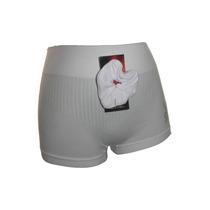 Docena Boxer Micro Fibra Mujer Faja Levanta Cola Unicolor