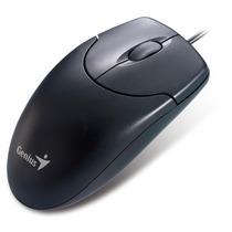 Mouse Genius Netscroll 120 Ps2 Optico Negro