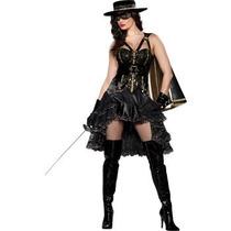 Disfraz / Disfraces De Zorro, Bandida, Para Damas