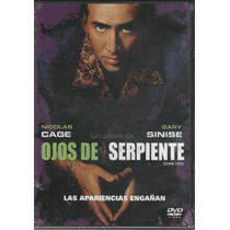 Dvd Ojos De Serpiente ( Snake Eyes ) / Nicolas Cage