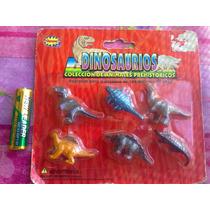 Sets De Dinosaurios De La Prehistoria Miniatura