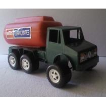 Camion Cisterna De Gasolina - Camioncito De Juguete Escala