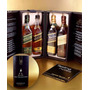 Johnie Walker The Collection Black, Green, Gold E Blue Label