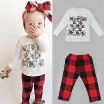 Roupa Feminina Infantil Para Blusa E Calça 2 Anos Importado