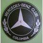 Reloj Pared Mercedes Benz Logo En Madera
