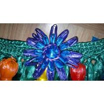 Corona De Flores De Rafia Hawaiiano Tahitiano