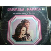 Disco Acetato De Carmela Y Rafael