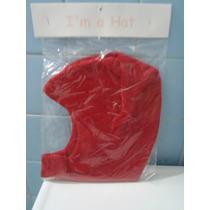 Gorro Rojo Talla 3/9 Meses Super Bonito